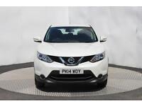 Nissan Qashqai DCI ACENTA SMART VISION (white) 2014-05-23