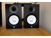 Yamaha HS80Ms monitors (120w each)