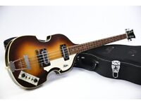 1977/78 Hofner 500/1 Violin Bass Made in Germany & Fitted Hard Case