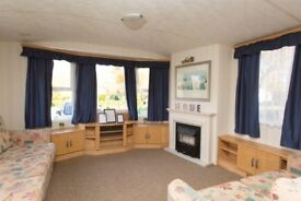 Cheap static caravan for sale at Tattershall Lakes near beach Skegness Ingoldmells Lincolnshire