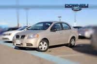 2010 Pontiac G3 Manual windows - Rubber mats - CD player