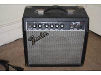15 Watt Guitar Amplifier - Fender Model Frontman 15G (PAT Tested)
