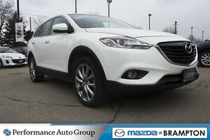2015 Mazda CX-9 GT|LEATHER|AWD|ROOF| SINGLE OWNER