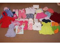 Girls 9-12 Month Baby Clothes Bundle C