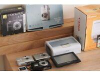 Apple Ipod Nano 2th Gen, Garmin Sat Navi, Canon Ixus 30,Ixus 40, Nikon Coolpix L25,Printer Canon