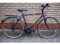 Raleigh Pioneer Classic bike - average size - ideal commuter (hybrid/road/town like TREK/Giant)