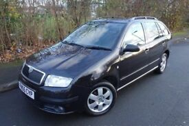 2006 Skoda Fabia BOHEMIA, TDI Estate 1.4 Diesel 5dr, 1 Owner From New, HPI Clear, 12 Month MOT