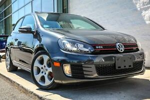 2012 Volkswagen Golf GTI 3-Door Cuir ! IMPECCABLE!! * 88$ / SEM