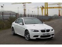 BMW M3 Alpine White with Carbon Fibre Roof Full Warranty