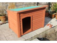 Wooden Dog Kennel - NEW