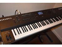 Kurzweil Forte 88 Premium Stage Piano, keyboard like new, plus...extras...