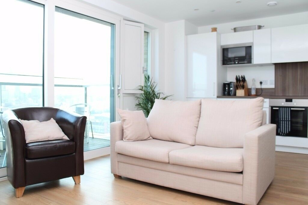Modern studio with semi separate sleeping area - Marner Point Bow E3 Stratford - Gym - Porter - JS