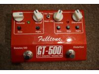 Fulltone GT500 Overdrive & Boost
