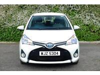 Toyota Yaris HYBRID ICON (white) 2014-09-19