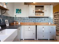 Fired Earth Ex-Display Kitchen Clearance - Free-standing Bastide Kitchen Corner Unit