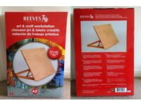 Reeves Arts & Crafts Workstation A2 - BRAND NEW, NEVER USED - an unwanted gift
