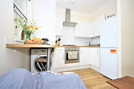 recently refurbished 3 bedroom apartment in New Cross. Just 2 mins walk from New Cross Station