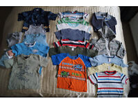 Bundle of boys clothes Aged 1 to 2 (49 items and more)