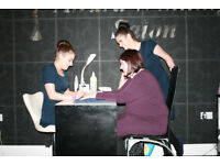 Full Time and Part Time Experienced Beauty Therapist required for City Centre Salon.