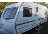 Coachman Amara 530/4 2002 4 Berth Fixed Bed Caravan + Half Size Isabella Awning