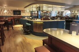 Experienced Bar and Waiting Staff wanted for City Centre Bar and Restaurant