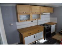 Kitchen counters & cupboards