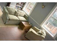 DAVID GUNDRY / Duresta Vermont Large 3 seater sofa + Armchair Suite