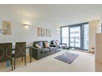 18th FLOOR one bedroom flat, RIVER VIEWS, 24hr porter, GYM, balcony, furnished, NEUTRON TOWER, E14