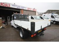 FORD TRANSIT 125 T-350 DOUBLE CAB TIPPER – 12-REG