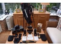 Nikon D7200 Digital SLR with Lenses and Accessories