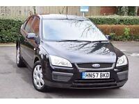 2007 FORD FOCUS LX 1.6 PETROL*1 OWNER*3 MONTHS WARRANTY*5 DOOR*JUST HAD A SERVICE DONE*LONG MOT*