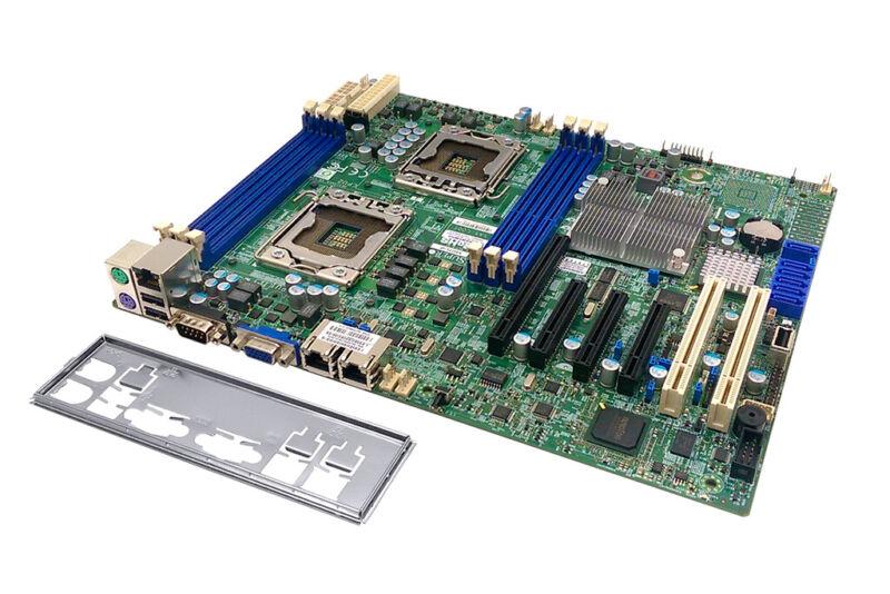 SUPERMICRO X8DTL-IF R. 2.01 INTEL CHIPSET 5500 SOCKET 2X LGA1366 ATX SERVERBOARD