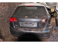 Audi A3, Black colour, 2006 year, Breaking and selling for parts