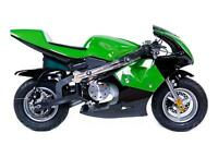 POCKET BIKE ÉLECTRIQUE 2014 1000WATTS $359.99! MINI MOTO DEPOT