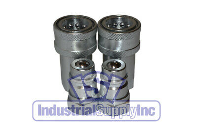 Quick Coupler Agricultural 12 Npt Complete Set Iso 5675 Series 2 Pk