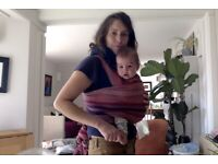 Cotton baby sling