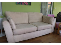 3-seater sofa, faux-suede