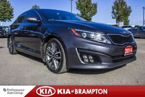 2014 Kia Optima SX. NAVI. BACKUP CAM. MEM SEAT. BLUETOOTH. ALLOY