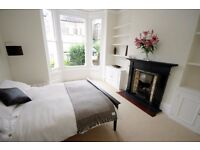Wonderful well-presented two double bedroom garden flat to rent in Battersea.