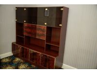 Vintage wall unit from the 1960's