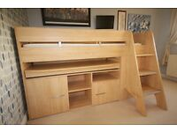 Gautier Cabin Bed & Mattress