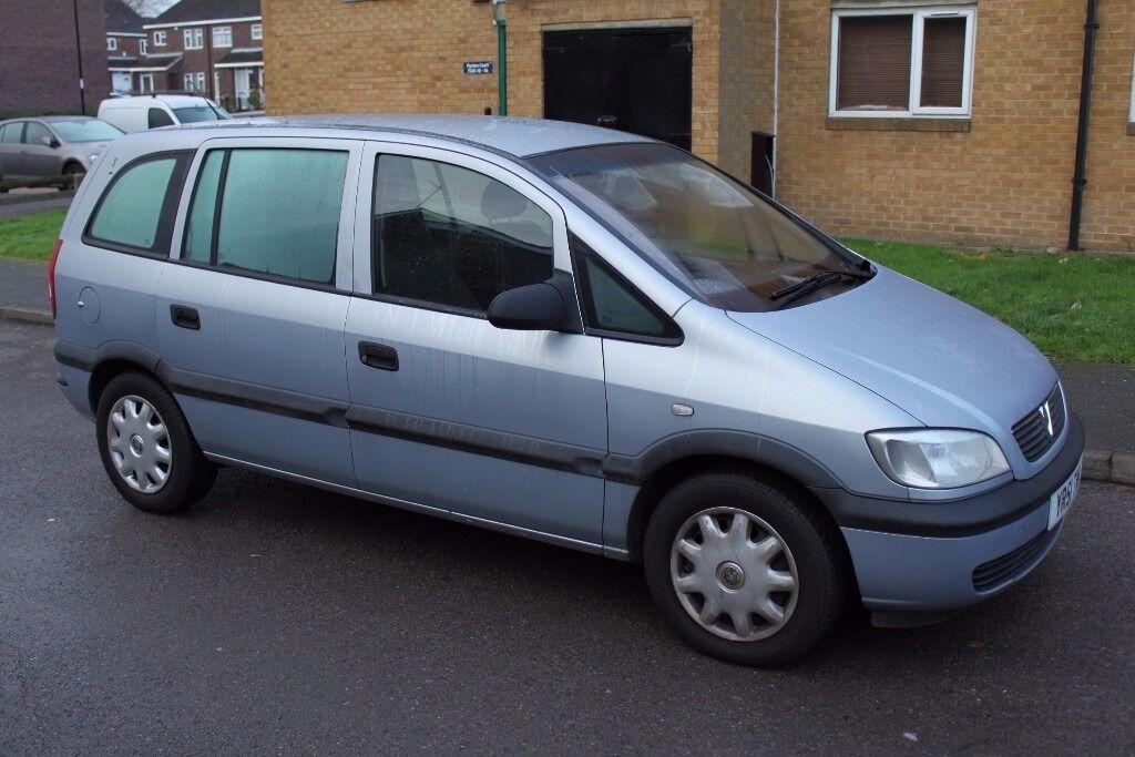 2001 Vauxhall Zafira 1.8 16V Club Automatic
