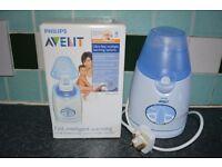 Philips Avent baby bottle milk/food warmer