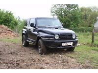 4x4 classic mercedes g wagon copy 2.8 diesel used on farm as get around ,