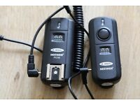 neewer speedlite receiver and trigger, they will work with any flash, mint condition ( 07971266874 )
