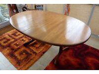 Retro GPlan Fresco Teak Oval Dining Table