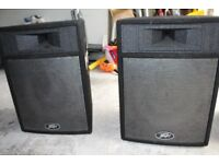2 x Peavey speakers Pro-15 powered. Disco equipment