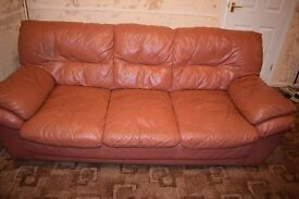 Leather 2 & 3 Seater Sofa's