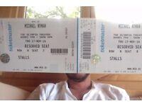 Michael Nyman - Solo concert in Dublin. 17th November. 2 tickets
