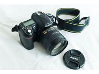 Nikon D80 bundle & extras, very low shutter count of 5031